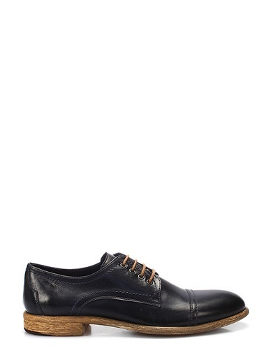 %100 Deri Bağcıklı Ayakkabı-İnci